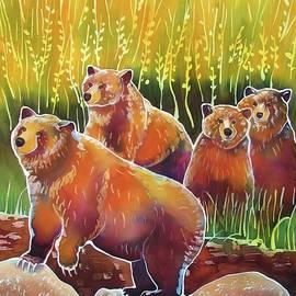 Harriet Peck Taylor - Grizzlies on Wapiti Creek