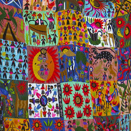 Kurt Van Wagner - Guatemala Folk Art Quilt