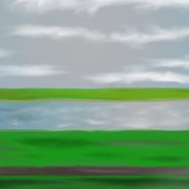 Gursky Rhein II Redux by Richard Reeve