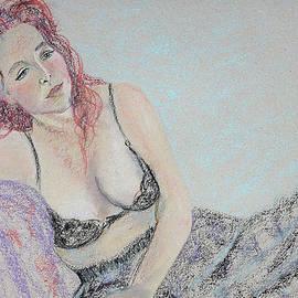 Asha Carolyn Young - Gypsy Spirit Woman Pondering