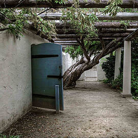 Hacienda Courtyard by Kandy Hurley