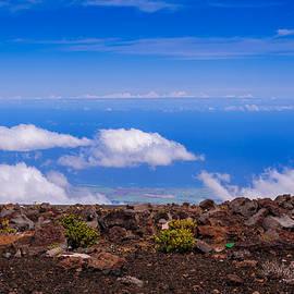 Haleakula Crater by John Johnson