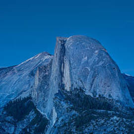 Half Dome Night by Steve Gadomski