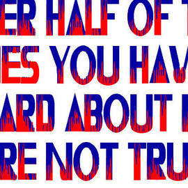 Half the Lies by Jim Williams