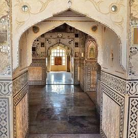 Kim Bemis - Hall of Mirrors - Amber Fort - Jaipur India