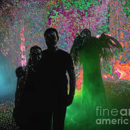 Halloween Stroll by Norman Gabitzsch