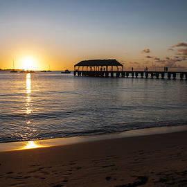 Hanalei Bay Sunset by Brian Harig