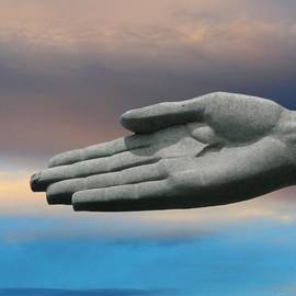 Julia Fine Art And Photography - Hand In The Sky