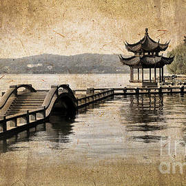 Hangzhou lake by Delphimages Photo Creations
