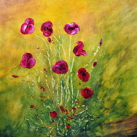 Happy Poppies by Teresa Wegrzyn