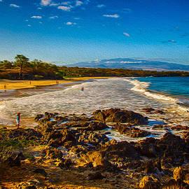Hapuna Beach by Omaste Witkowski