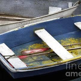 Harbor Dinghies by Karin Pinkham