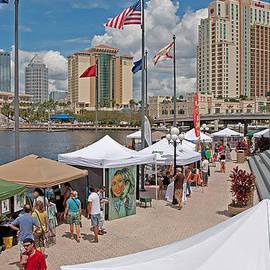 Harbor Island Artfest Tampa by John Black