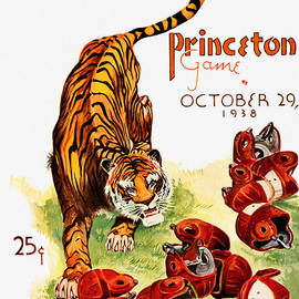 John Farr - Harvard vs Princeton 1938 Football Game Program