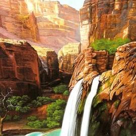 Jessi and James Gault - Havasu Falls Grand Canyon