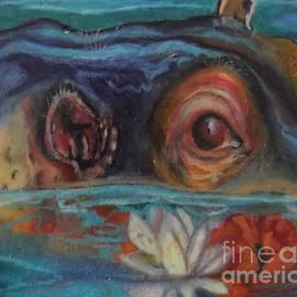 Hawaiian Hippo by Donna Chaasadah
