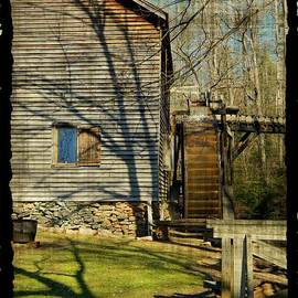 Haygood Mill Water Wheel by Kathy Barney