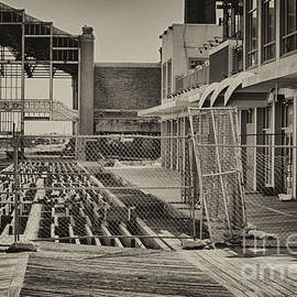 Pictures HDR - HDR Black White BW Jersey Shore Famous Boardwalk Picture Photo Art Dramatic Image