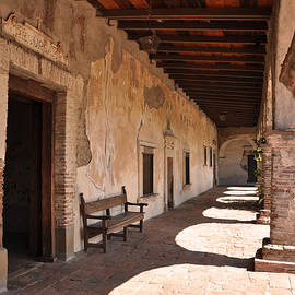 He Shall Rise Again, Mission San Juan Capistrano, California by Denise Strahm