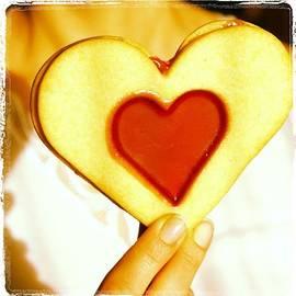 Heart Love Cookie