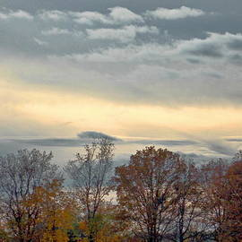 Heavenly Autumn Sunset by Danielle  Parent