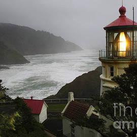 Heceta Head Lighthouse 1 by Bob Christopher