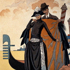 Georges Barbier - Her and Him