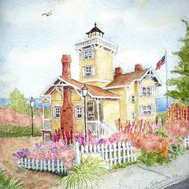 Marlene  Schwartz  - Hereford Inlet Lighthouse