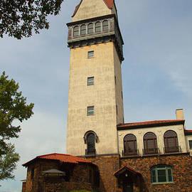 Heublein Tower by Karol Livote
