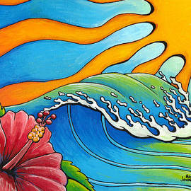 Hibiscus Wave by Adam Johnson