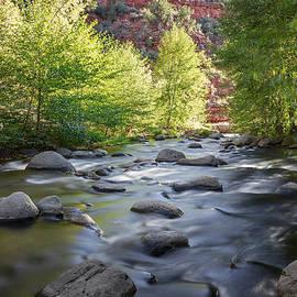 High Desert Stream by Aaron Burrows