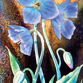 Himalayan Poppy Trio by Teresa Ascone