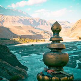 Raimond Klavins - Himalayas road to Upper Mustang  from Kagbeni