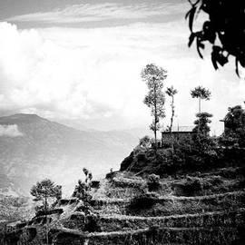 Raimond Klavins - Himalayas Terrace Raimond Klavins Fotografika.lv silhouette