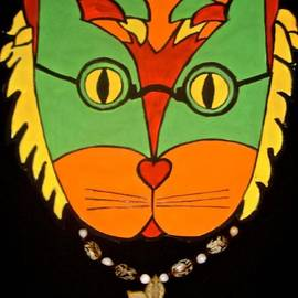 Hippy Cat by Stephanie Moore