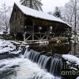 Historic Mill - Vintage 1800s by T-S Photo Art