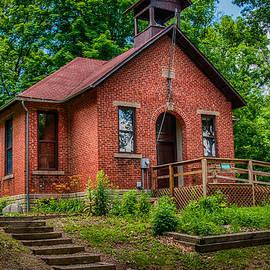 Historic One Room School House by Gene Sherrill
