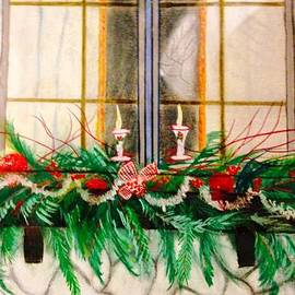 Renee Michelle Wenker - Holiday Decorated Window Box