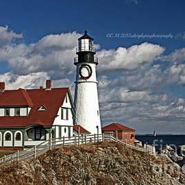 Catherine Melvin - Holiday Lighthouse