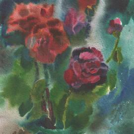 Anna Lobovikov-Katz - Holiday roses