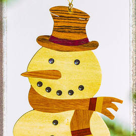 Snowman Holiday Image Art by Jo Ann Tomaselli