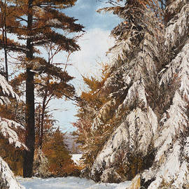 Mary Ellen Anderson - Holland Lake Lodge Road - Montana