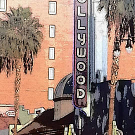 Hollywood California by Christy Gendalia