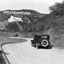 Hollywoodland by Underwood Archives