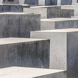 Colin Utz - Holocaust Memorial In Color - Berlin Germany