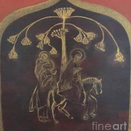 Seija Talolahti - Holy family fleeing to Egypt