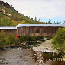 Honey Run Covered Bridge by Ron Roberts