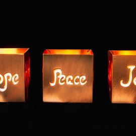 Hope Peace Joy