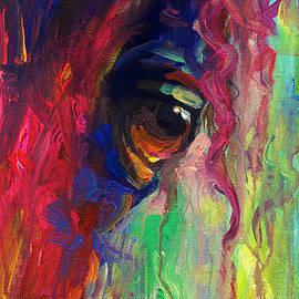 Horse Eye Portrait  by Svetlana Novikova