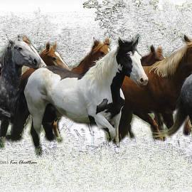 Horse Herd #3 by Kae Cheatham
